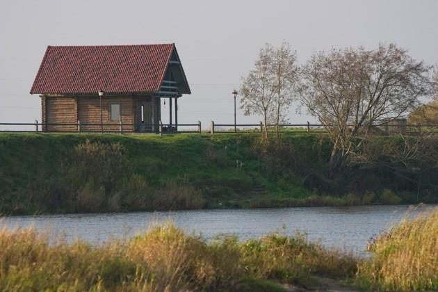 Svečių namai, Kempingas ir Nameliai prie upės Ventspilio rajone Ventaskrasti - 23