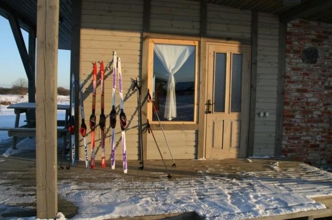 Svečių namai, Kempingas ir Nameliai prie upės Ventspilio rajone Ventaskrasti - 28
