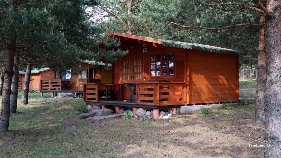 Vištyčio kempingas Pušelė - namelių nuoma prie ežero - 1