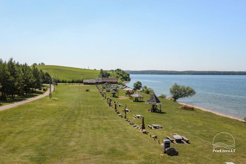 Vištyčio kempingas Pušelė - namelių nuoma prie ežero - 2