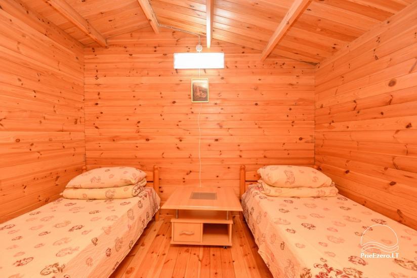 Vištyčio kempingas Pušelė - namelių nuoma prie ežero - 4