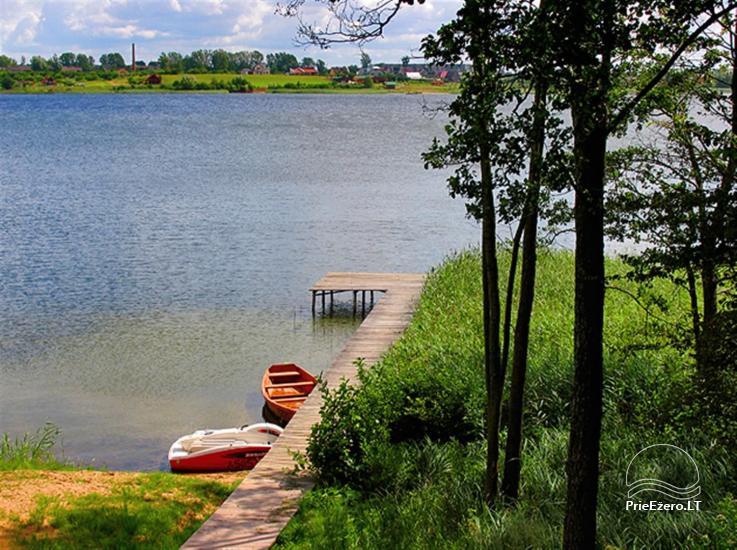 """Rąstinio namo – sodybos nuoma ant ežero kranto Alytaus rajone """"Giluitis"""" - 26"""