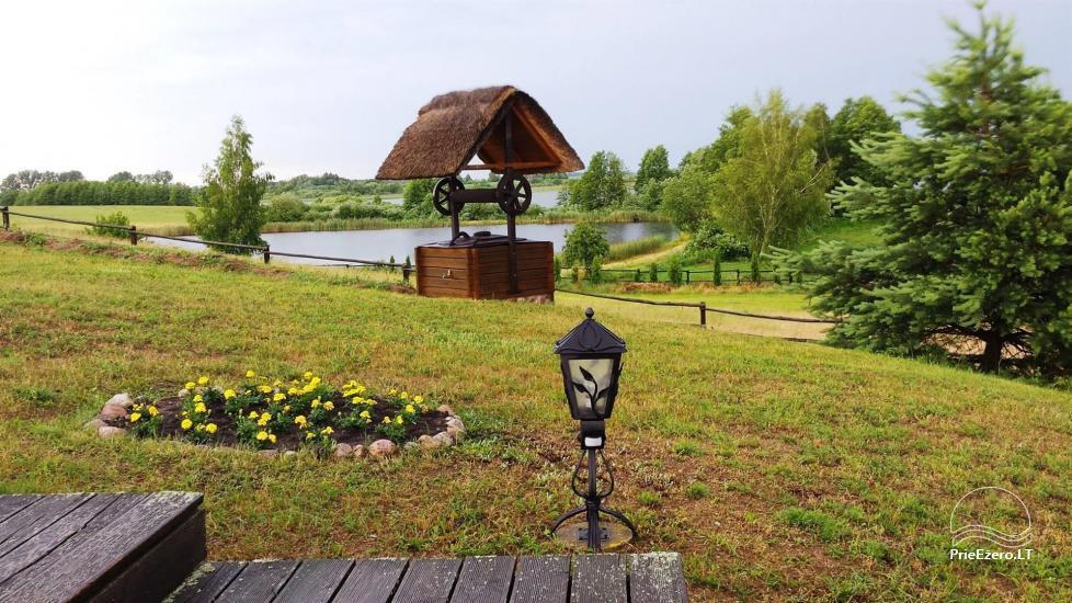 """Rąstinio namo – sodybos nuoma ant ežero kranto Alytaus rajone """"Giluitis"""" - 32"""