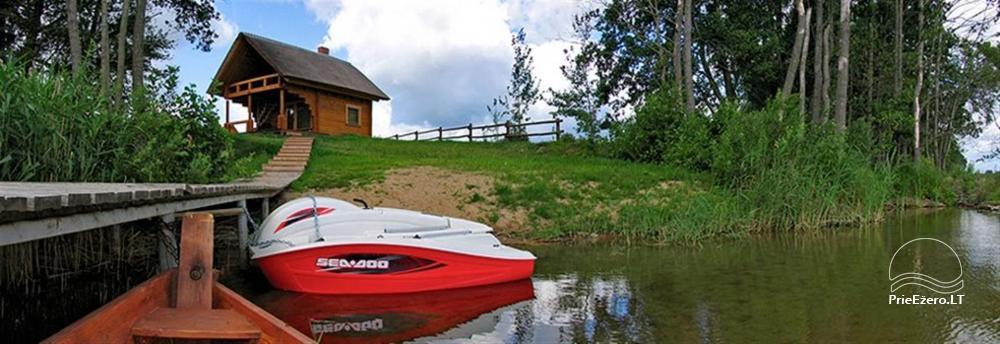 """Rąstinio namo – sodybos nuoma ant ežero kranto Alytaus rajone """"Giluitis"""" - 25"""