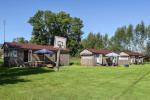 Svitkinų stovyklavietė ant Atmatos upės kranto Šilutės rajone