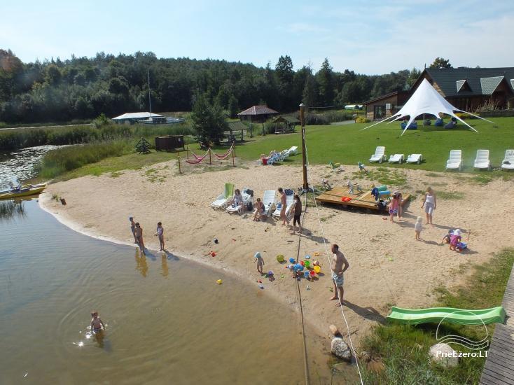 Įlankos sodyba prie Bebrusų ežero Molėtų rajone - 6