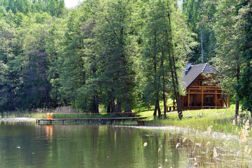 L.Kindurienės sodyba ant Lušykščio ežero kranto - 12