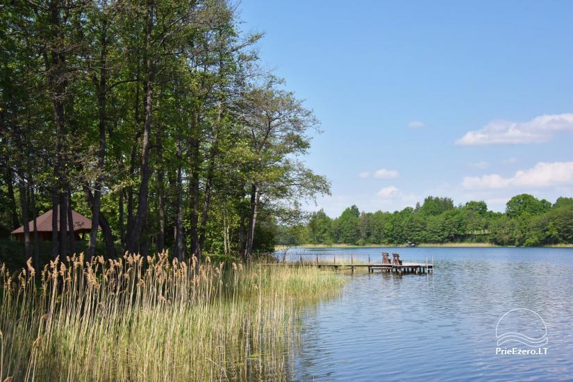 L.Kindurienės sodyba ant Lušykščio ežero kranto - 43