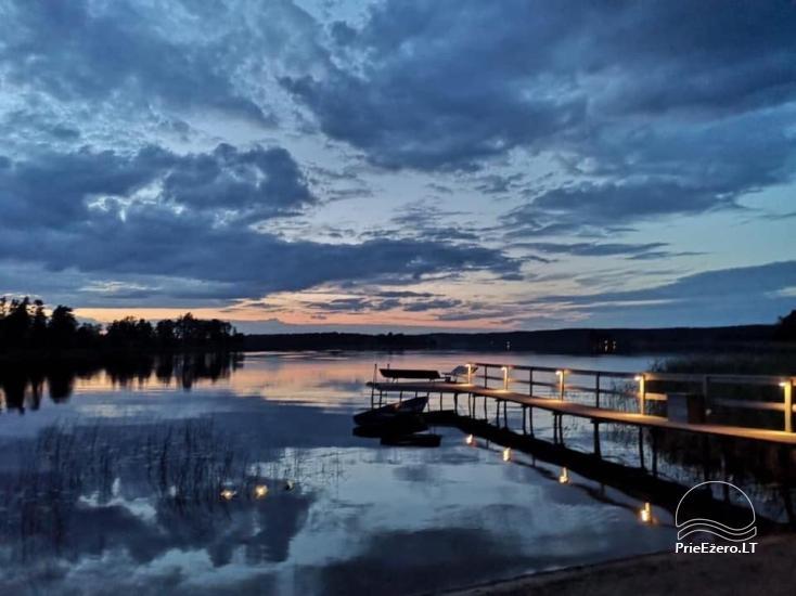 Sodyba Bebrusiukas ant Bebrusų ežero kranto Molėtų rajone - 7