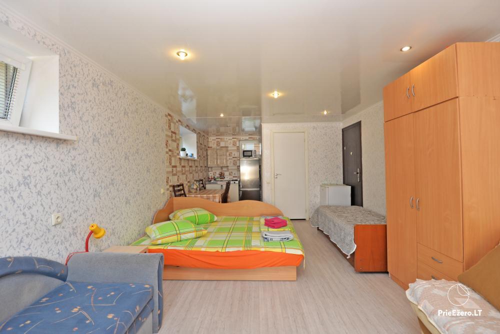 Apartamentai Druskininkų senamiestyje, yra vaikų žaidimo aikštelė, didelis kiemas, garažas motociklams - 11