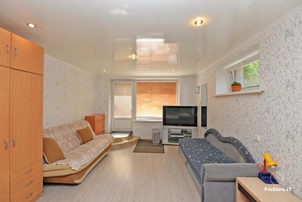 Apartamentai Druskininkų senamiestyje, yra vaikų žaidimo aikštelė, didelis kiemas, garažas motociklams - 24