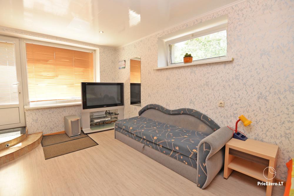 Apartamentai Druskininkų senamiestyje, yra vaikų žaidimo aikštelė, didelis kiemas, garažas motociklams - 25