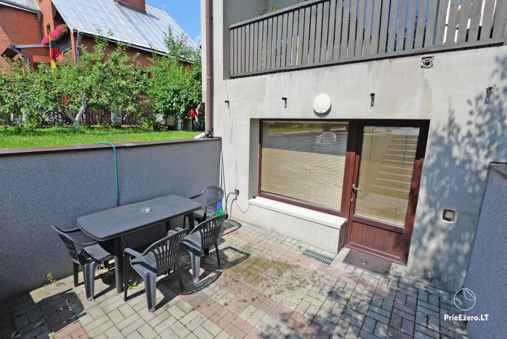 Apartamentai Druskininkų senamiestyje, yra vaikų žaidimo aikštelė, didelis kiemas, garažas motociklams - 17