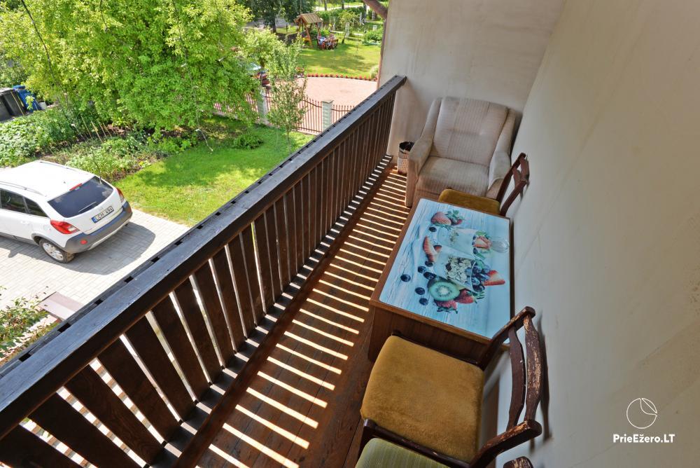 Apartamentai Druskininkų senamiestyje, yra vaikų žaidimo aikštelė, didelis kiemas, garažas motociklams - 15
