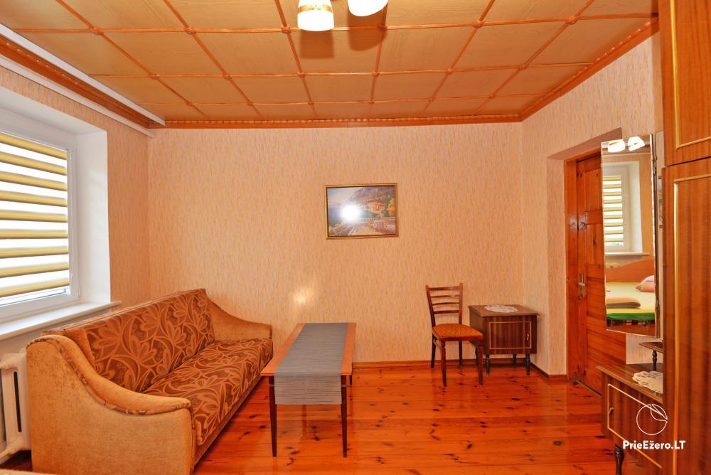 Apartamentai Druskininkų senamiestyje, yra vaikų žaidimo aikštelė, didelis kiemas, garažas motociklams - 41