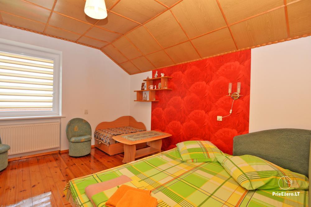 Apartamentai Druskininkų senamiestyje, yra vaikų žaidimo aikštelė, didelis kiemas, garažas motociklams - 42