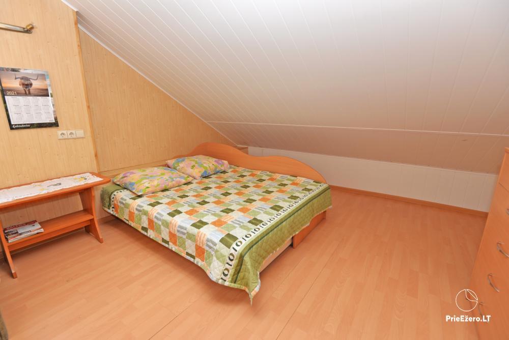Apartamentai Druskininkų senamiestyje, yra vaikų žaidimo aikštelė, didelis kiemas, garažas motociklams - 16