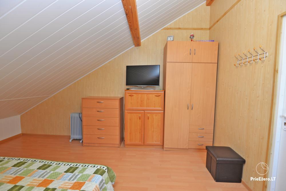 Apartamentai Druskininkų senamiestyje, yra vaikų žaidimo aikštelė, didelis kiemas, garažas motociklams - 40