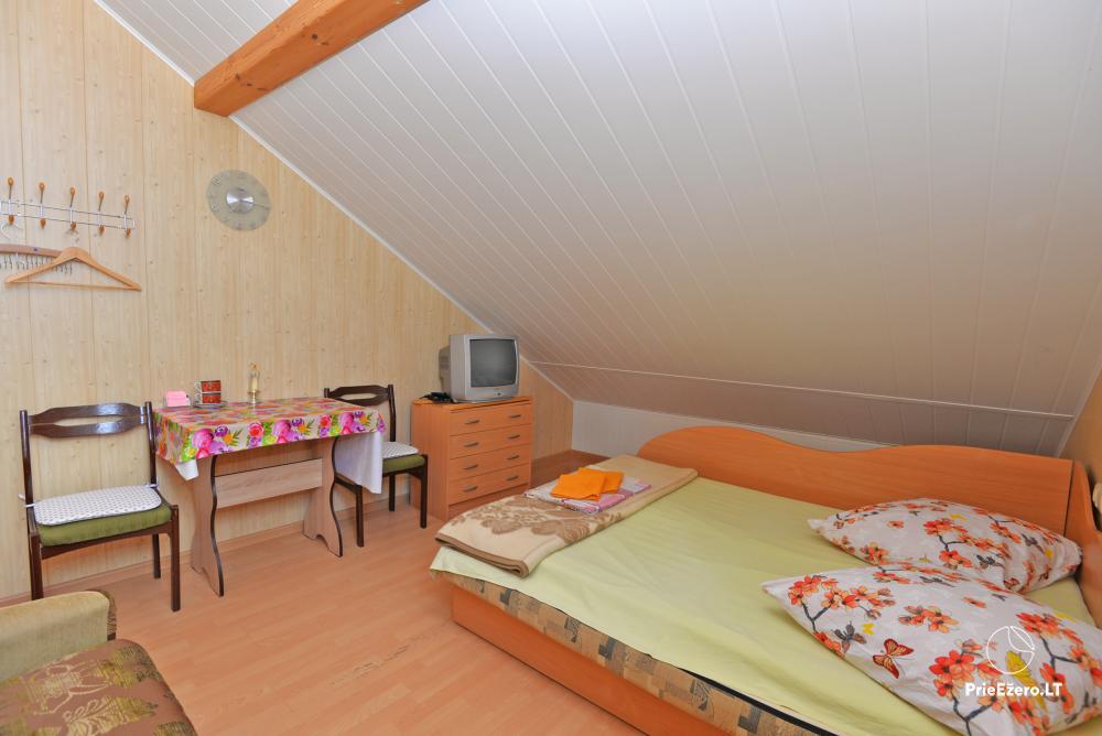Apartamentai Druskininkų senamiestyje, yra vaikų žaidimo aikštelė, didelis kiemas, garažas motociklams - 31