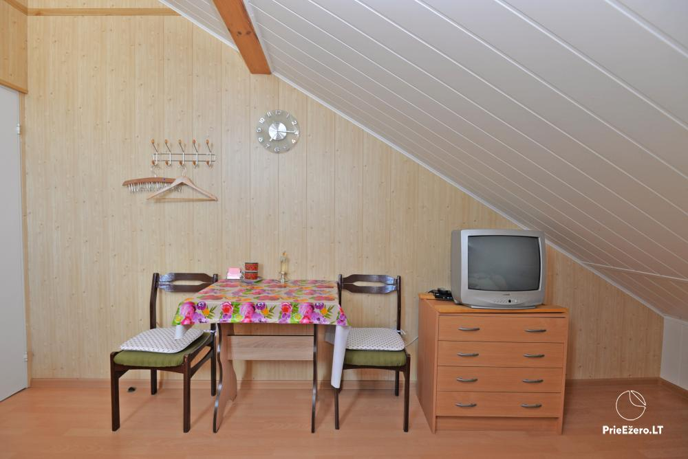 Apartamentai Druskininkų senamiestyje, yra vaikų žaidimo aikštelė, didelis kiemas, garažas motociklams - 34
