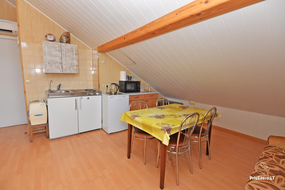 Apartamentai Druskininkų senamiestyje, yra vaikų žaidimo aikštelė, didelis kiemas, garažas motociklams - 33