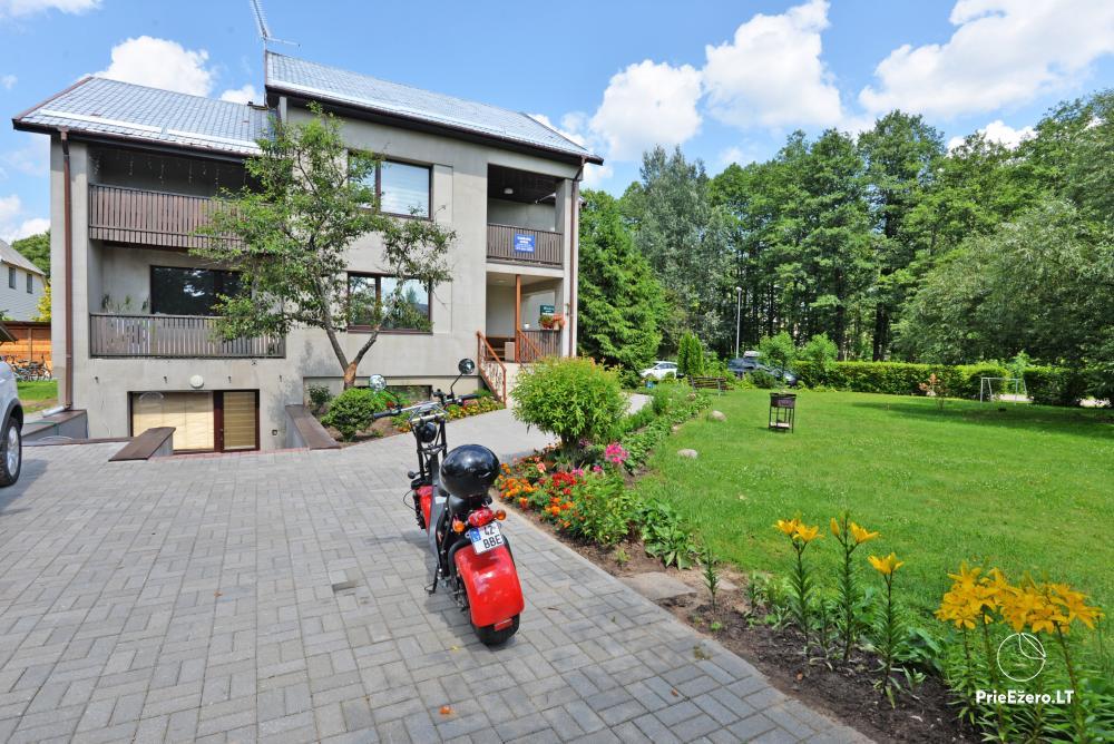 Apartamentai Druskininkų senamiestyje, yra vaikų žaidimo aikštelė, didelis kiemas, garažas motociklams - 2