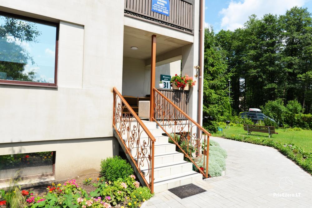 Apartamentai Druskininkų senamiestyje, yra vaikų žaidimo aikštelė, didelis kiemas, garažas motociklams - 5