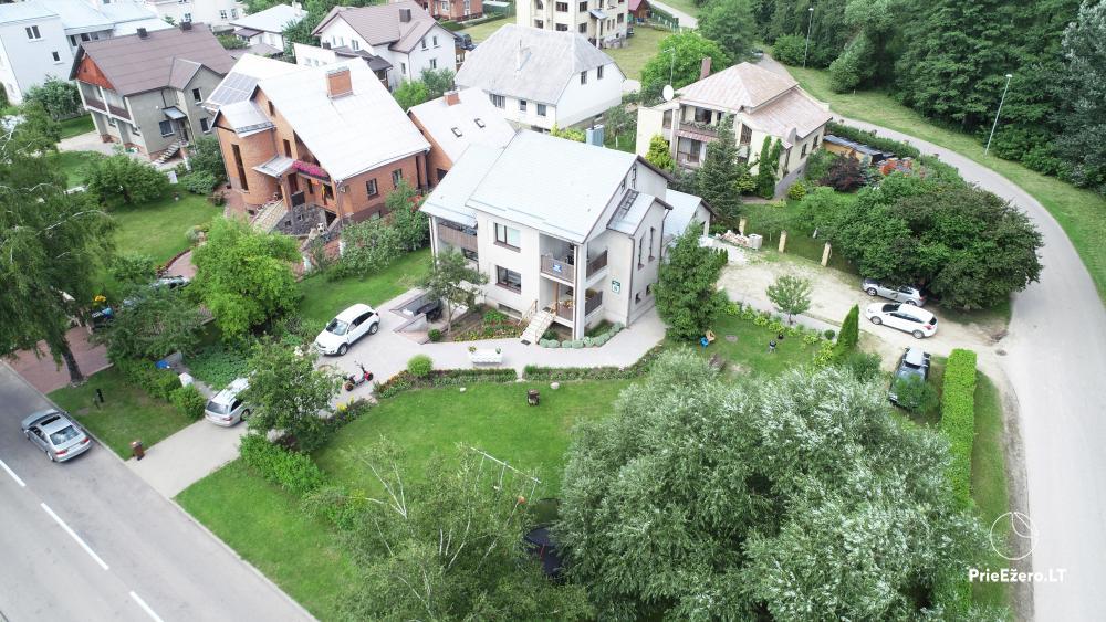 Apartamentai Druskininkų senamiestyje, yra vaikų žaidimo aikštelė, didelis kiemas, garažas motociklams - 4
