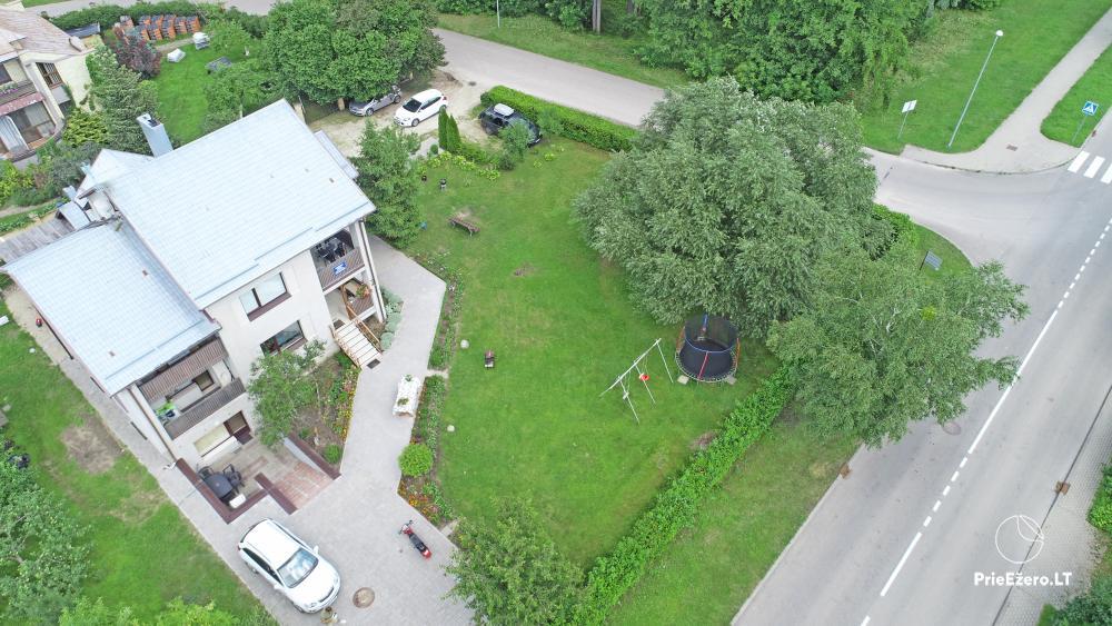 Apartamentai Druskininkų senamiestyje, yra vaikų žaidimo aikštelė, didelis kiemas, garažas motociklams - 3