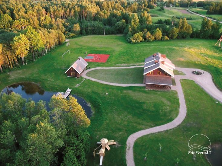 """Sodyba Molėtų rajone """"Marguoliai"""": salė šventėms, nameliai poilsiui - 3"""