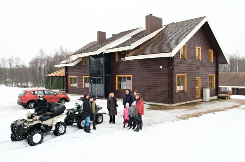 """Sodyba Molėtų rajone """"Marguoliai"""": salė šventėms, nameliai poilsiui - 22"""