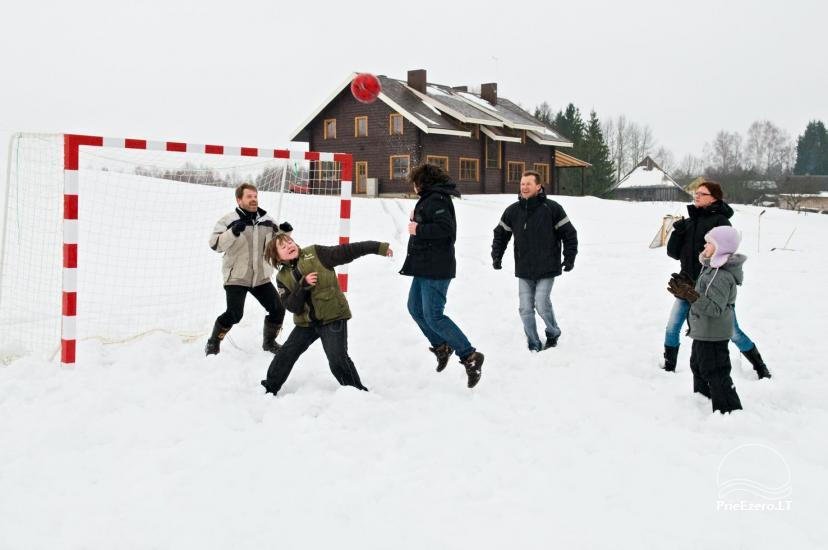 """Sodyba Molėtų rajone """"Marguoliai"""": salė šventėms, nameliai poilsiui - 25"""