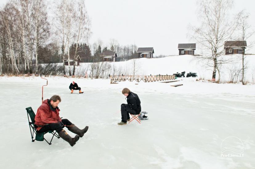 """Sodyba Molėtų rajone """"Marguoliai"""": salė šventėms, nameliai poilsiui - 28"""