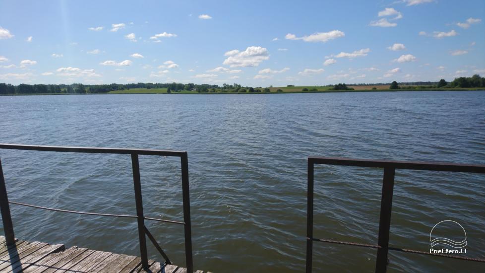 Vila Janus ant ežero kranto – vestuvėms, renginiams, poilsiui - 18