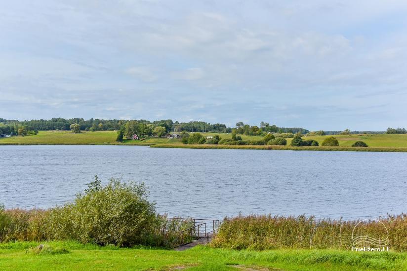 Vila Janus ant ežero kranto – vestuvėms, renginiams, poilsiui - 17