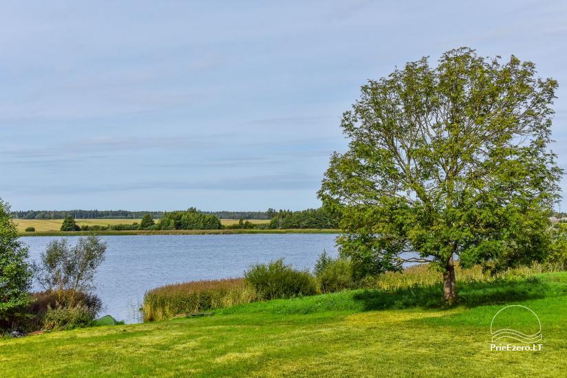 Vila Janus ant ežero kranto – vestuvėms, renginiams, poilsiui - 16