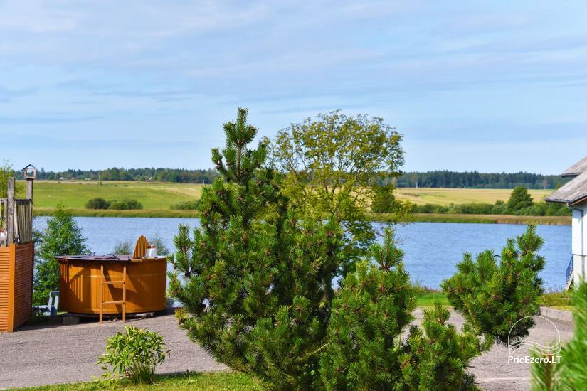 Vila Janus ant ežero kranto – vestuvėms, renginiams, poilsiui - 13