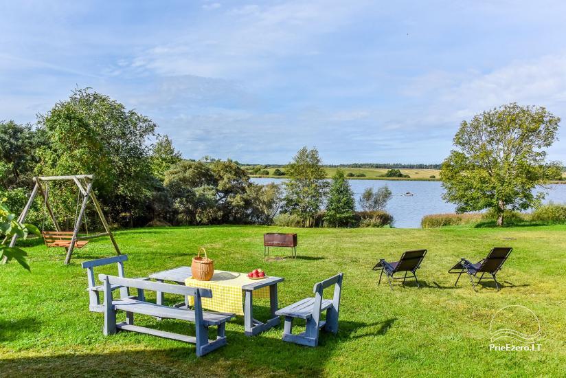 Vila Janus ant ežero kranto – vestuvėms, renginiams, poilsiui - 12