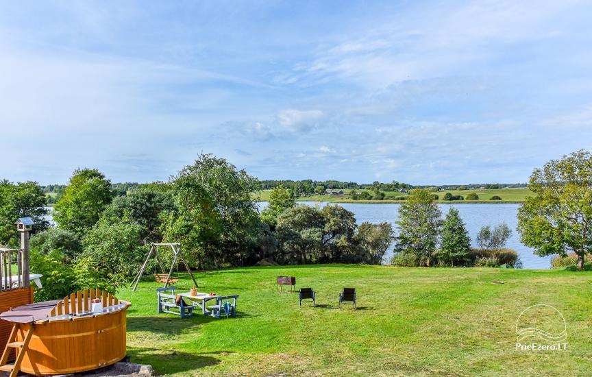 Vila Janus ant ežero kranto – vestuvėms, renginiams, poilsiui - 11