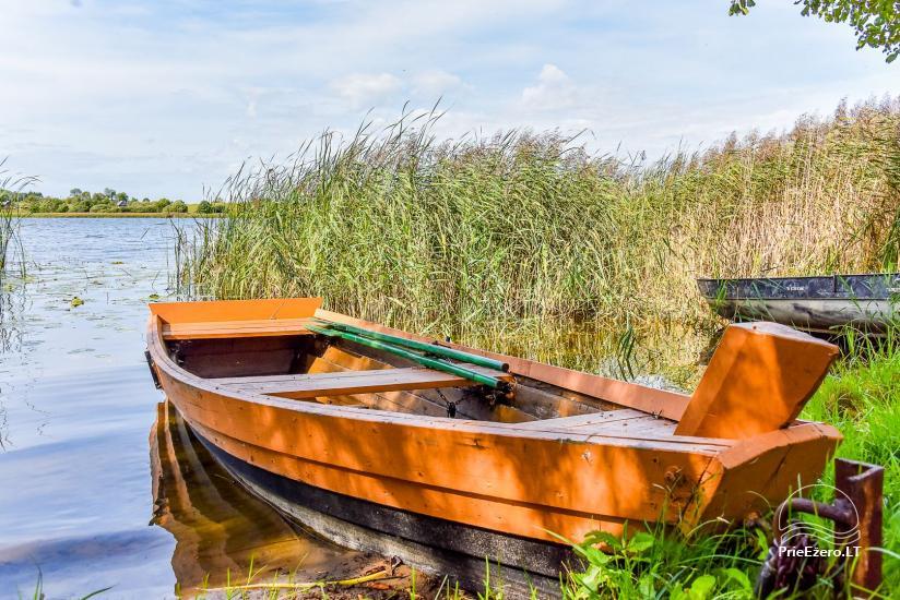Vila Janus ant ežero kranto – vestuvėms, renginiams, poilsiui - 38