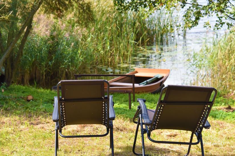 Vila Janus ant ežero kranto – vestuvėms, renginiams, poilsiui - 37