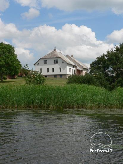 Vila Janus ant ežero kranto – vestuvėms, renginiams, poilsiui - 19