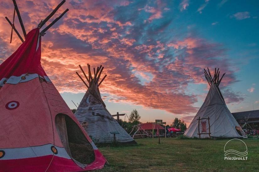 Vinetu kaimas – gyvosios indėnų istorijos muziejus, aktyvaus ir harmoningo laisvalaikio kaimas - 1