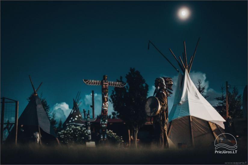 Vinetu kaimas – gyvosios indėnų istorijos muziejus, aktyvaus ir harmoningo laisvalaikio kaimas - 3