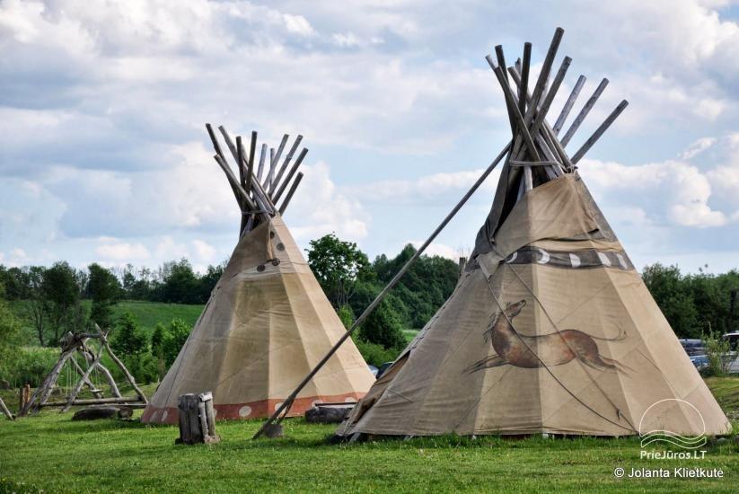 Vinetu kaimas – gyvosios indėnų istorijos muziejus, aktyvaus ir harmoningo laisvalaikio kaimas - 6