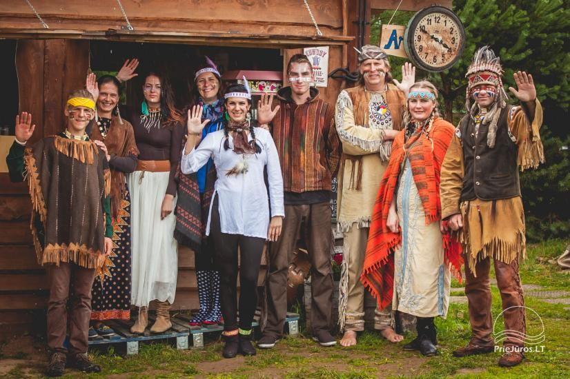 Vinetu kaimas – gyvosios indėnų istorijos muziejus, aktyvaus ir harmoningo laisvalaikio kaimas - 12