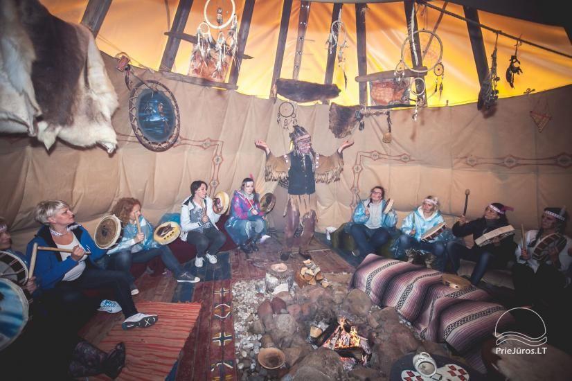 Vinetu kaimas – gyvosios indėnų istorijos muziejus, aktyvaus ir harmoningo laisvalaikio kaimas - 15