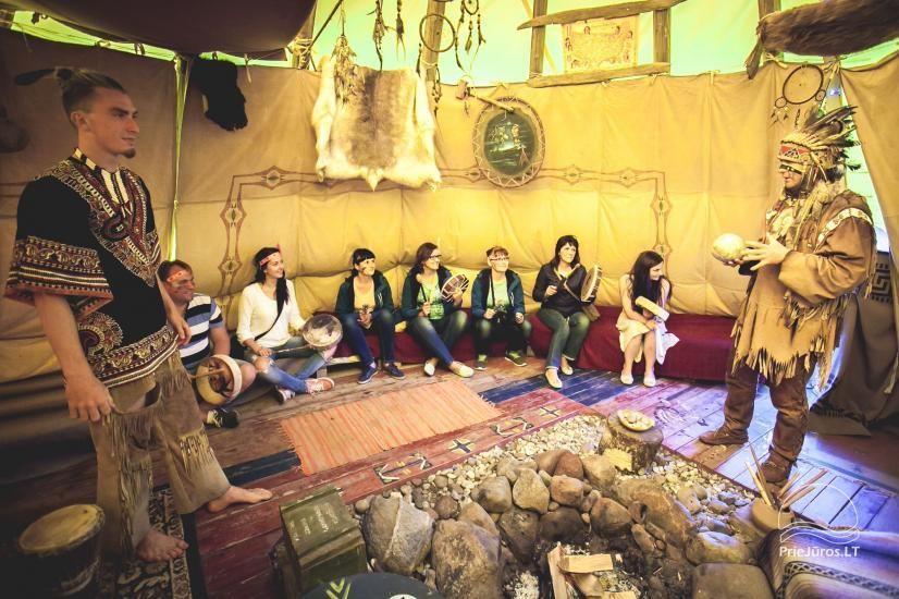 Vinetu kaimas – gyvosios indėnų istorijos muziejus, aktyvaus ir harmoningo laisvalaikio kaimas - 16