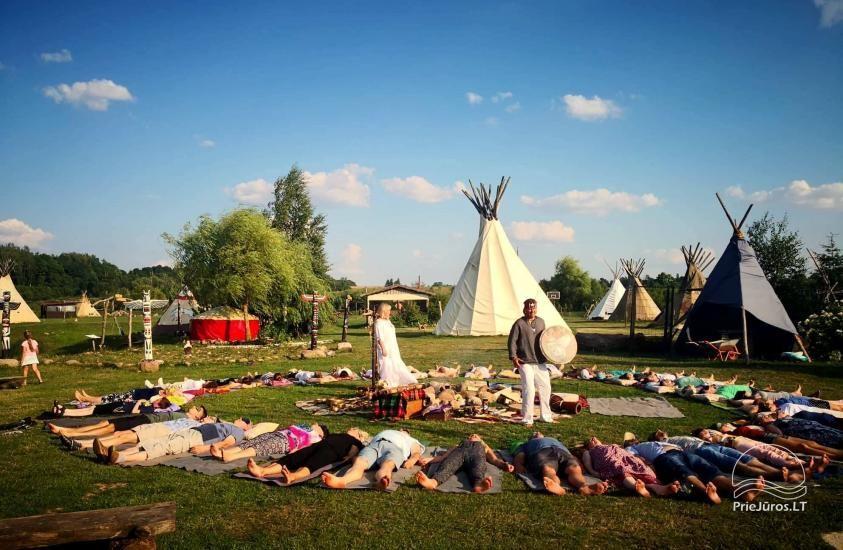Vinetu kaimas – gyvosios indėnų istorijos muziejus, aktyvaus ir harmoningo laisvalaikio kaimas - 20