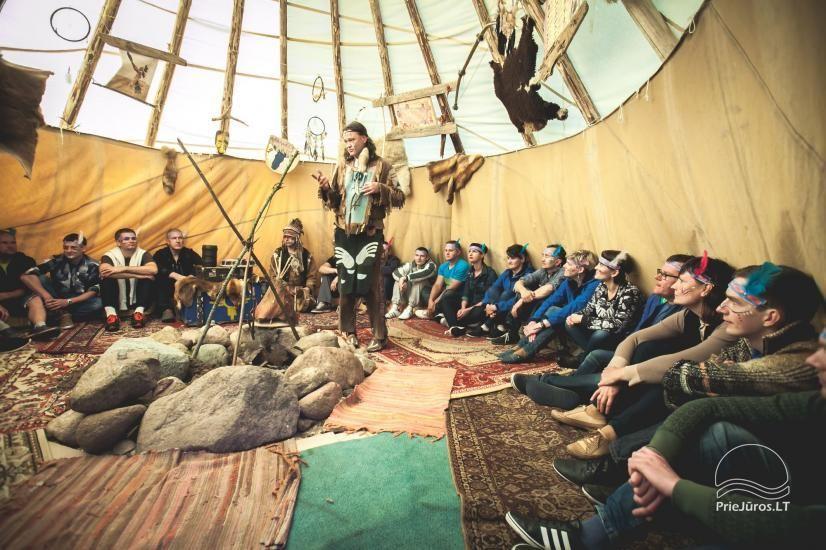 Vinetu kaimas – gyvosios indėnų istorijos muziejus, aktyvaus ir harmoningo laisvalaikio kaimas - 25